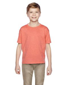 Retro Hth Coral Kids 5 oz., 100% Heavy Cotton HD® T-Shirt