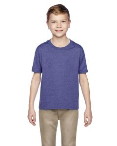 Retro Hth Purp Kids 5 oz., 100% Heavy Cotton HD® T-Shirt