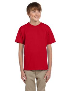 Fiery Red Kids 5 oz., 100% Heavy Cotton HD® T-Shirt