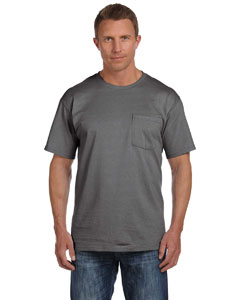 Charcoal Grey 5 oz., 100% Heavy Cotton HD® Pocket T-Shirt