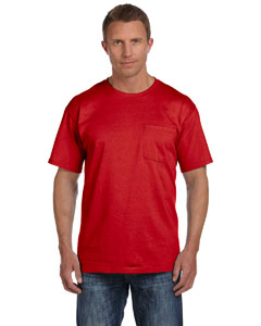 True Red 5 oz., 100% Heavy Cotton HD™ Pocket T-Shirt