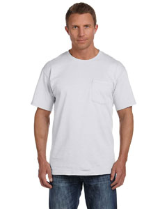 Ash 5 oz., 100% Heavy Cotton HD™ Pocket T-Shirt