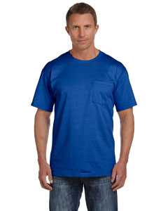 Royal 5 oz., 100% Heavy Cotton HD™ Pocket T-Shirt
