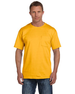 Gold 5 oz., 100% Heavy Cotton HD® Pocket T-Shirt