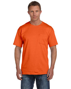 Burnt Orange 5 oz., 100% Heavy Cotton HD™ Pocket T-Shirt