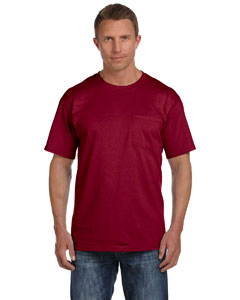 Maroon 5 oz., 100% Heavy Cotton HD® Pocket T-Shirt