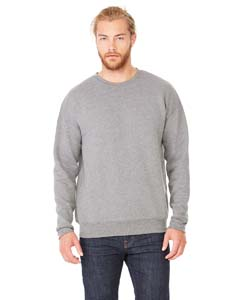 Deep Heather Unisex Drop Shoulder Fleece
