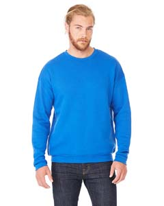 True Royal Unisex Drop Shoulder Fleece