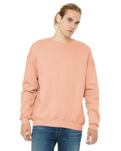 Peach Unisex Drop Shoulder Fleece
