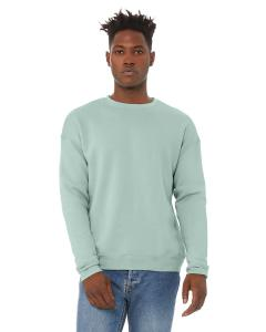 Dusty Blue Unisex Drop Shoulder Fleece