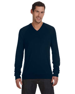 Midnight Unisex V-Neck Lightweight Sweater