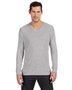 Athletic Heather Unisex V-Neck Lightweight Sweater