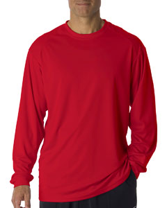 Red Adult B-Core Long Sleeve T-Shirt