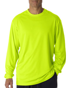 Safety Yellow Adult B-Core Long Sleeve T-Shirt