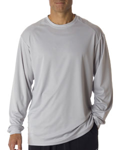 Silver Adult B-Core Long Sleeve T-Shirt