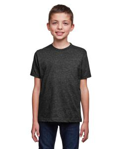 Heather Black Youth Eco Performance Crewneck T-Shirt