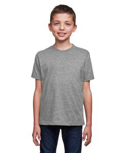 Drk Heather Gray Youth Eco Performance Crewneck T-Shirt