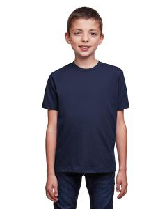 Midnight Navy Youth Eco Performance Crewneck T-Shirt