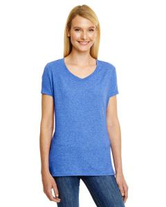 Royal Triblend Ladies' X-Temp® Triblend V-Neck T-Shirt