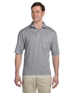 Oxford 5.6 oz., 50/50 Jersey Pocket Polo with SpotShield™