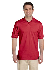 True Red Men's 5.6 oz., 50/50 Jersey Polo with SpotShield™