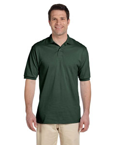 Forest Green Men's 5.6 oz., 50/50 Jersey Polo with SpotShield™