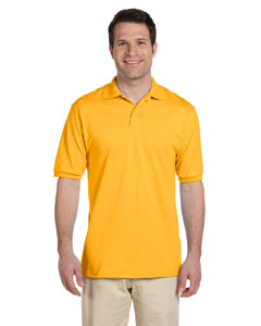 Gold Men's 5.6 oz., 50/50 Jersey Polo with SpotShield™