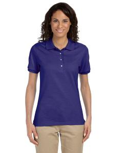 Deep Purple Ladies' 5.6 oz. SpotShield™ Jersey Polo