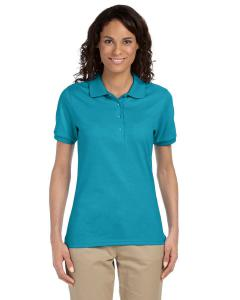 California Blue Ladies' 5.6 oz. SpotShield™ Jersey Polo