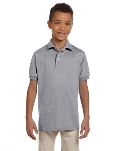 Oxford Youth 5.6 oz., 50/50 Jersey Polo with SpotShield™