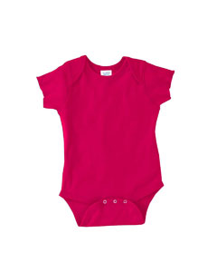 Raspberry Infant 5 oz. Baby Rib Lap Shoulder Bodysuit