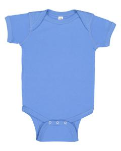 Carolina Blue Infant 5 oz. Baby Rib Lap Shoulder Bodysuit