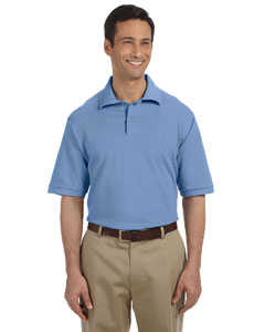 Light Blue Men's 6.5 oz. Cotton Piqué Polo