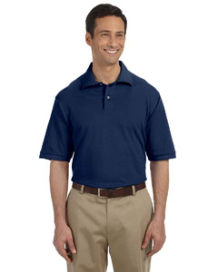 J Navy Men's 6.5 oz. Cotton Piqué Polo