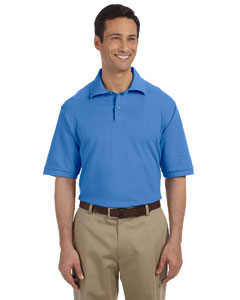 Columbia Blue Men's 6.5 oz. Cotton Piqué Polo
