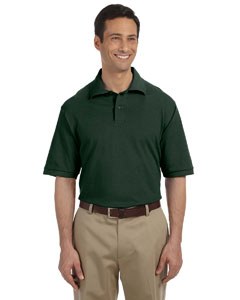 Forest Green Men's 6.5 oz. Cotton Piqué Polo