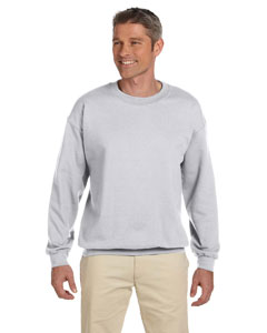 Ash Adult 9.5 oz., 50/50 Super Sweats® NuBlend® Fleece Crew