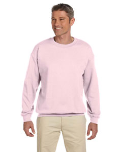 Classic Pink 9.5 oz., 50/50 Super Sweats® NuBlend® Fleece Crew