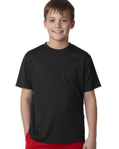 Black Youth Unisex Cool DRI® with FreshIQ Performance T-Shirt