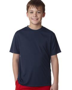 Navy Youth Unisex Cool DRI® with FreshIQ Performance T-Shirt