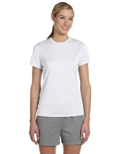 White Women's 4 oz. Cool Dri® T-Shirt