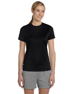 Black Women's 4 oz. Cool Dri® T-Shirt