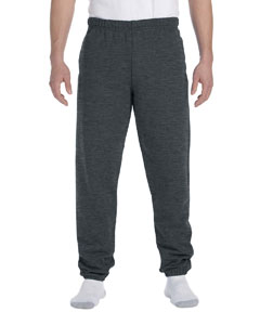 Black Heather 9.5 oz., 50/50 Super Sweats® NuBlend® Fleece Pocketed Sweatpants