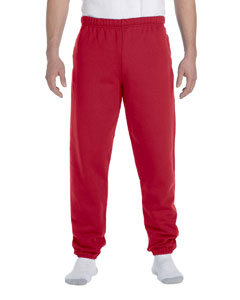 True Red 9.5 oz., 50/50 Super Sweats® NuBlend® Fleece Pocketed Sweatpants