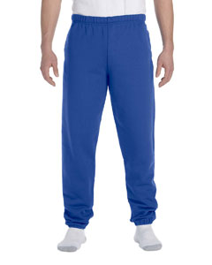 Royal 9.5 oz., 50/50 Super Sweats® NuBlend® Fleece Pocketed Sweatpants