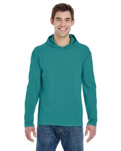 Seafoam Adult Heavyweight RS Long-Sleeve Hooded T-Shirt