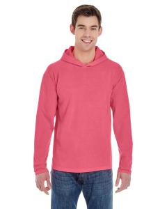 Watermelon Adult Heavyweight RS Long-Sleeve Hooded T-Shirt