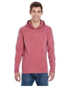 Brick Adult Heavyweight RS Long-Sleeve Hooded T-Shirt