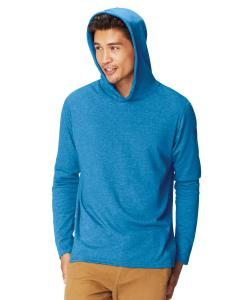 Royal Caribe Adult Heavyweight RS Long-Sleeve Hooded T-Shirt