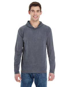 Chambray Adult Heavyweight RS Long-Sleeve Hooded T-Shirt